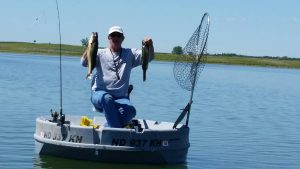 Report 13 fishing transitions on devils lake devils for Devils lake fishing report
