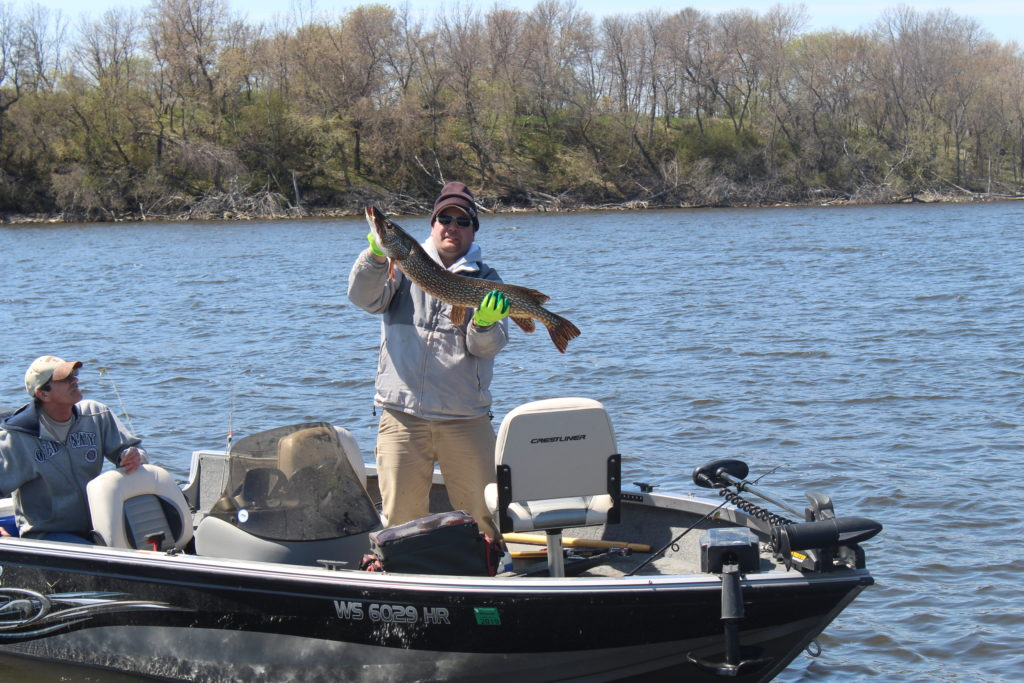 Monday spring fishing report 5 back to back devils for Devils lake fishing report