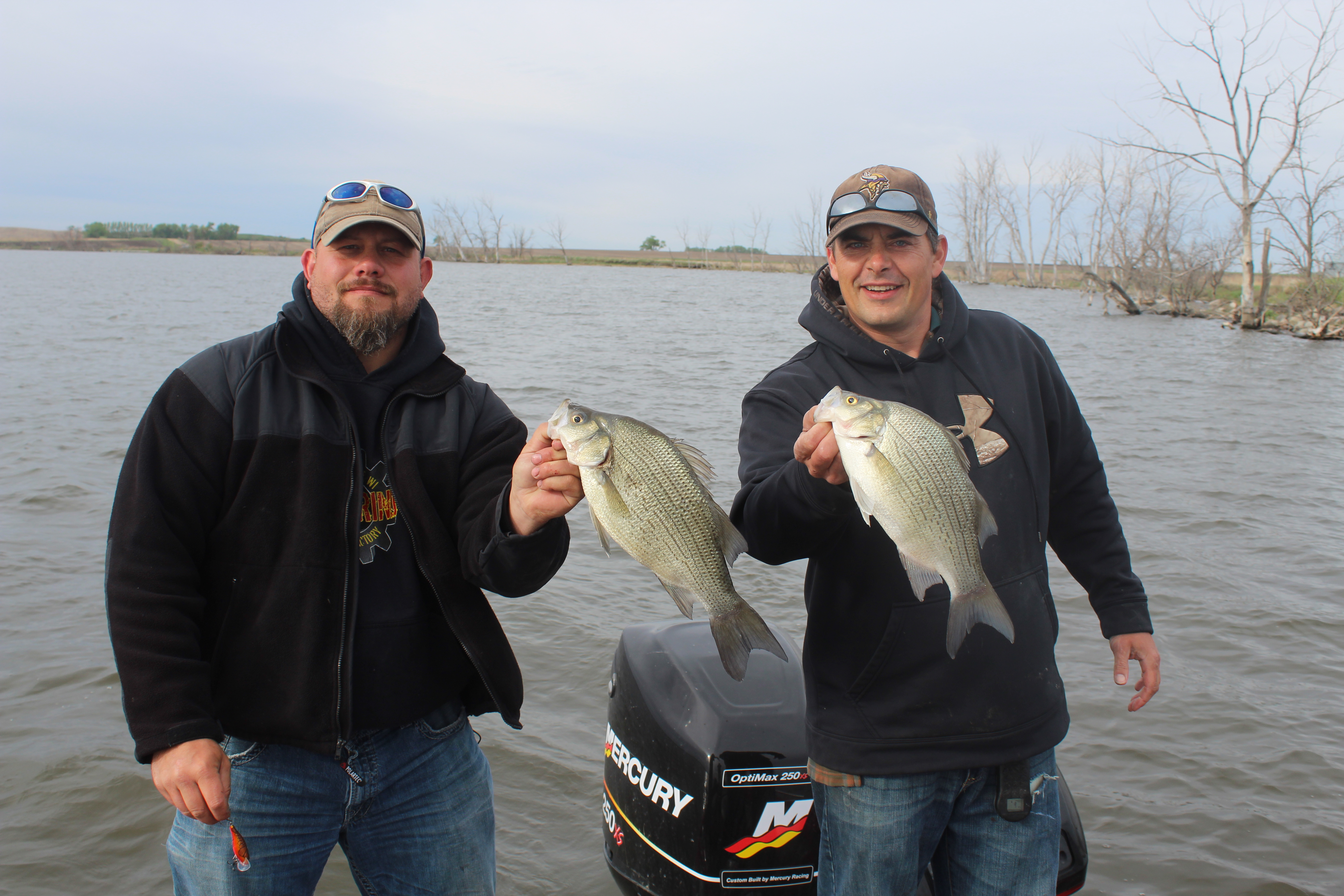 Devils lake 39 s 39 other 39 fish ole mr whitey devils lake for Devils lake fishing report