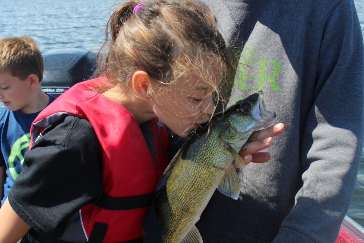 Monday summer fishing report 4 2 levels for success for Devils lake north dakota fishing report